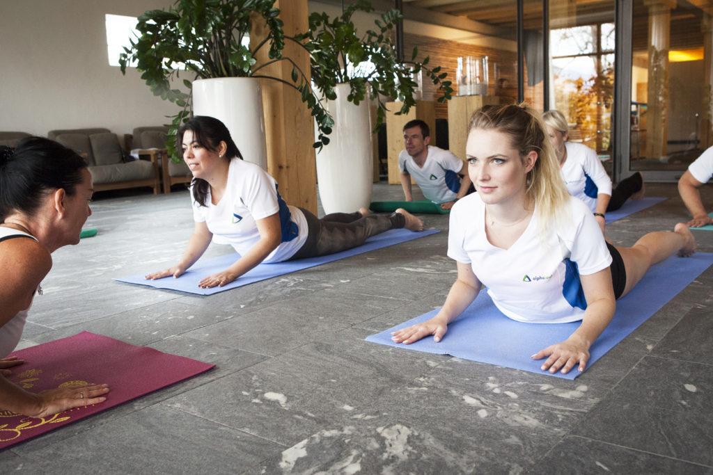 Alphalauf Seminar - Yoga